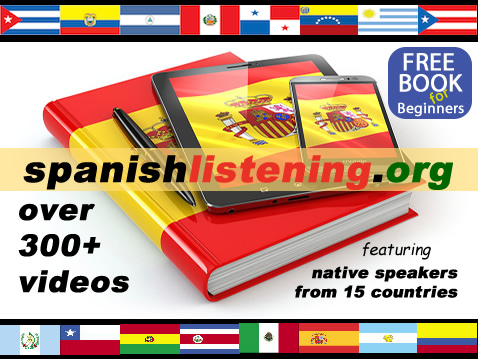 Spanish Listening : Learn Spanish by listening to native speakers